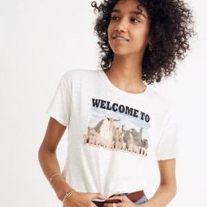 Welcome to the badlands tee